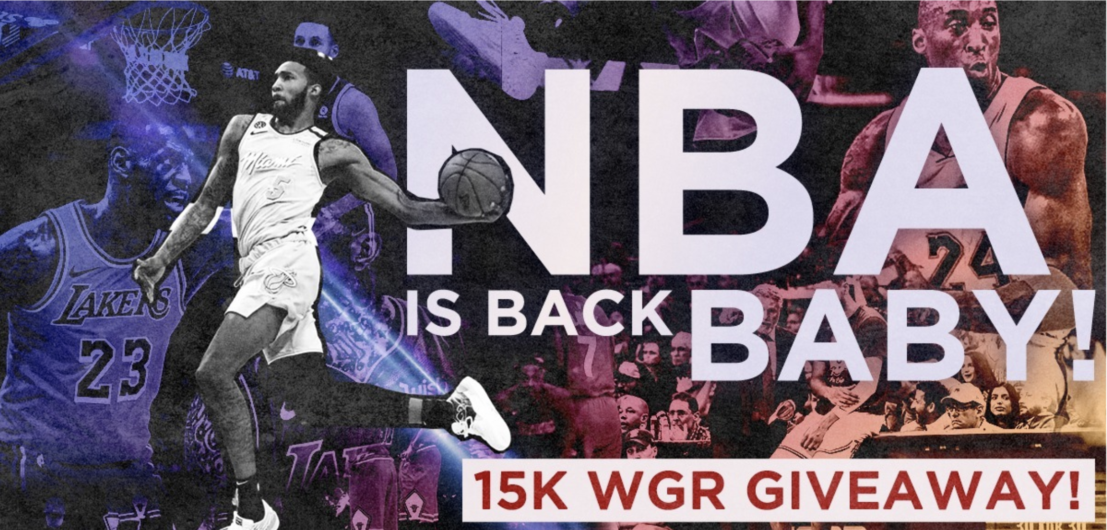 NBA 15k WGR Giveaway Winner Announced!
