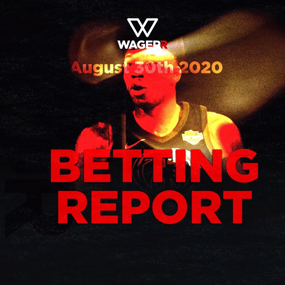 Wagerr Betting Report: August 30