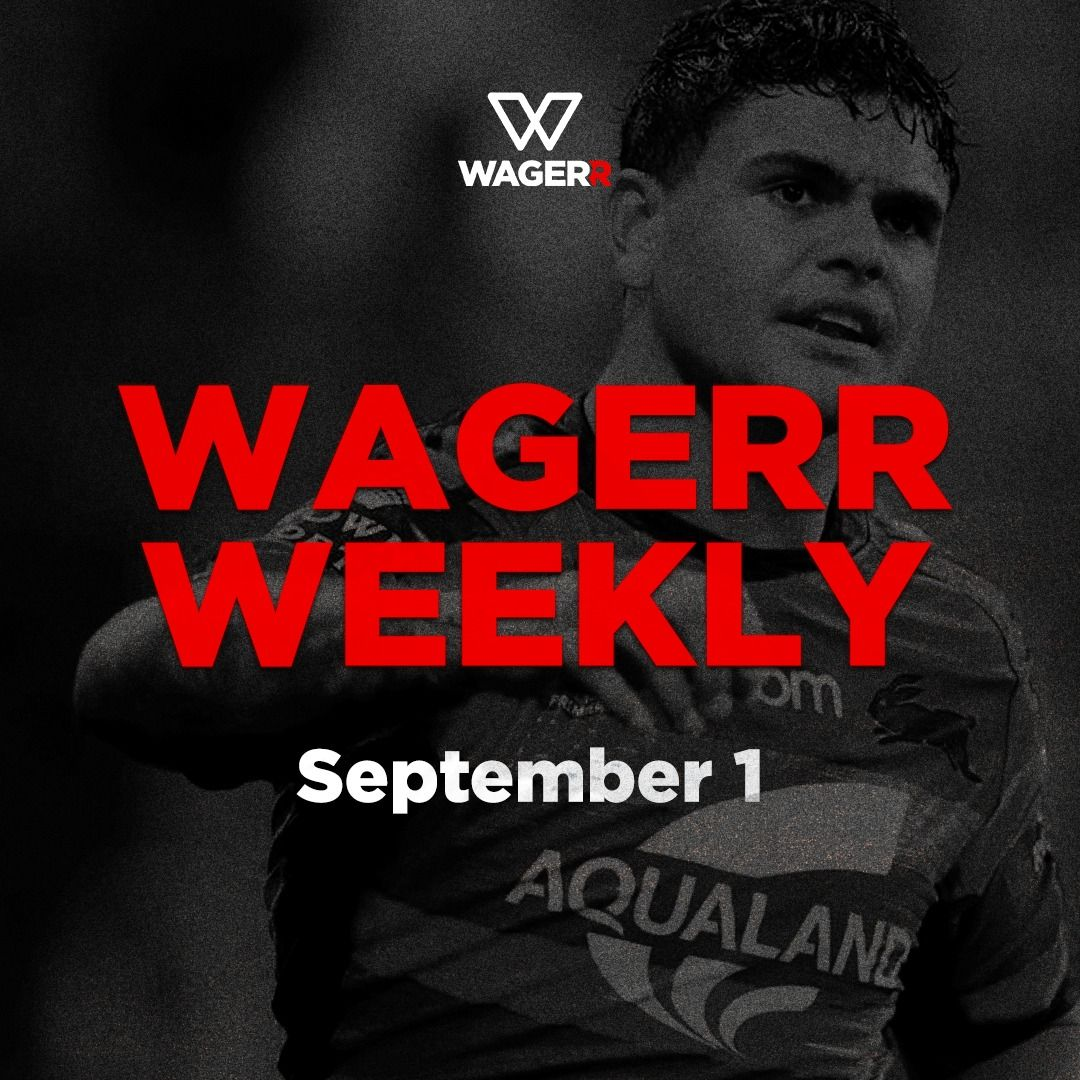 Wagerr Weekly: September 1