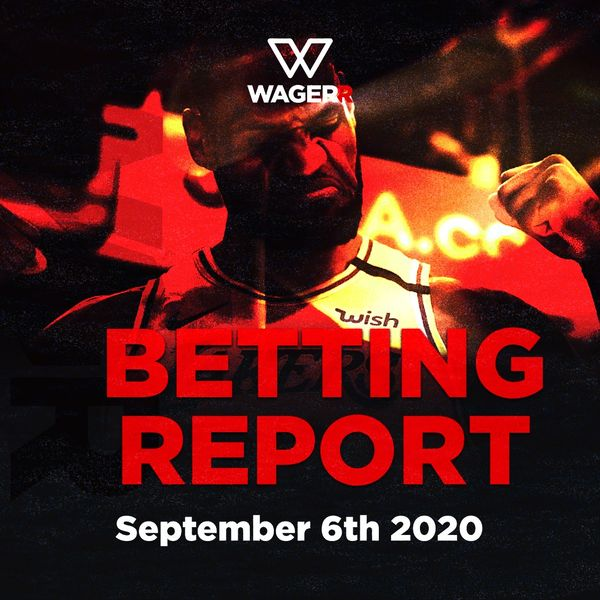 Wagerr Betting Report: September 6
