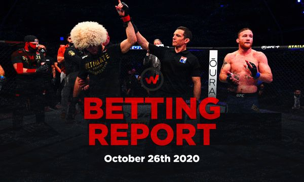 Wagerr Betting Report: October 26th
