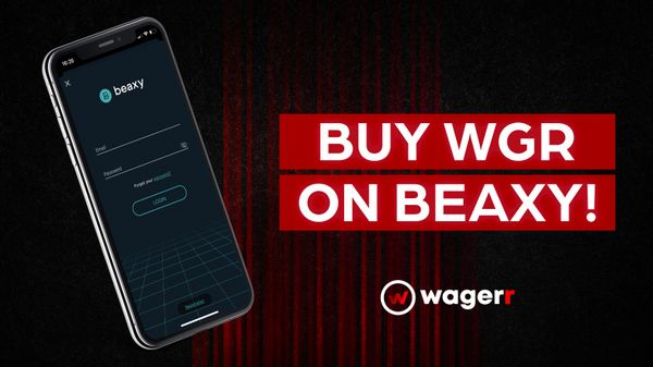 Trade Wagerr on Beaxy!